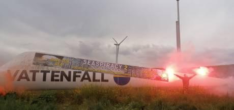 Vissers uit Flevoland gaan vaker protesteren tegen windmolens in de Noordzee: 'Pure piraterij'