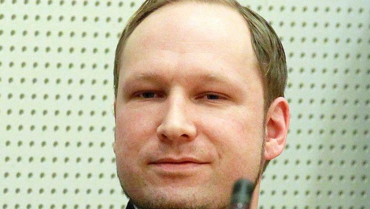 Breivik. Beeld EPA