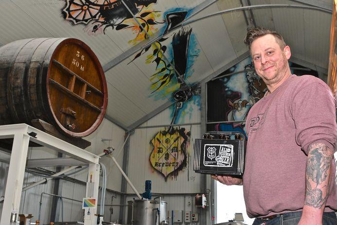 Jef Pirens heeft een nieuw concept: een kratje bier van zes.