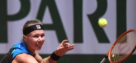 Bertens begint afscheidstoernee met nederlaag in aanloop naar Wimbledon