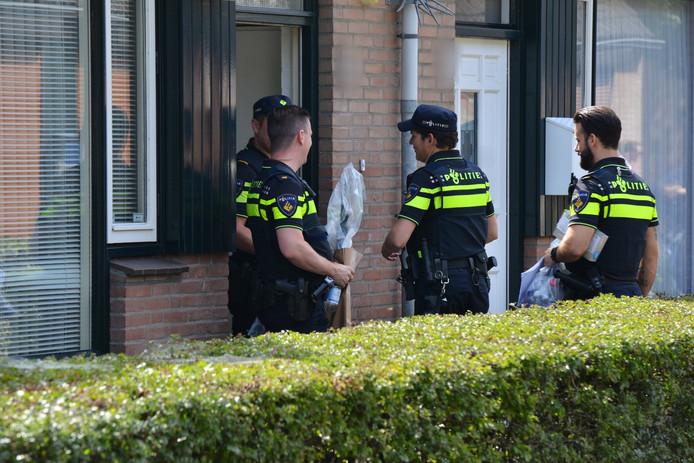 Vuurwapen gevonden in Breda.