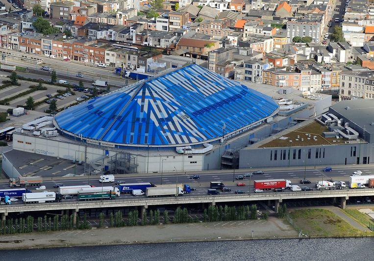 Het Antwerpse Sportpaleis. Beeld BELGA