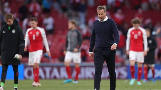 """Deense bondscoach geeft toe: """"Het was fout om te spelen. Christian was even dood, wisten niet of we vriend hadden verloren"""""""