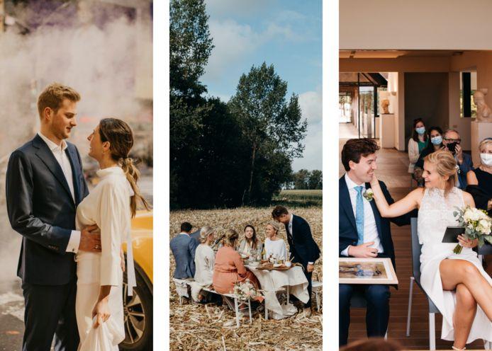 Irmy Photography (links), Felix Boniface (midden), Fille Roelants Photography (rechts)