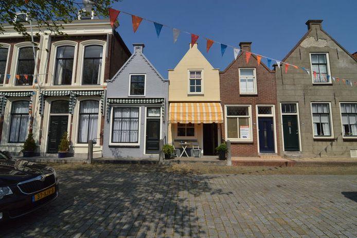 Het vakantiehuis in Goedereede.