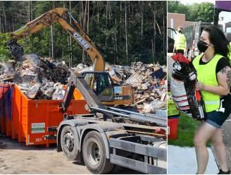 """Streekgenoten brengen hulpgoederen, tuinaannemer ruimt puin in Ardennen: """"Het lijkt er nog steeds oorlogsgebied"""""""
