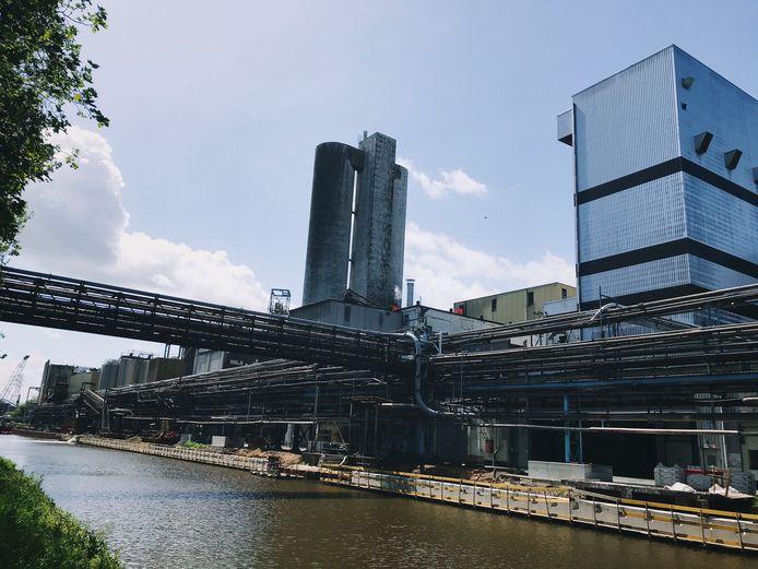 Tereos aan de Dender in Aalst.