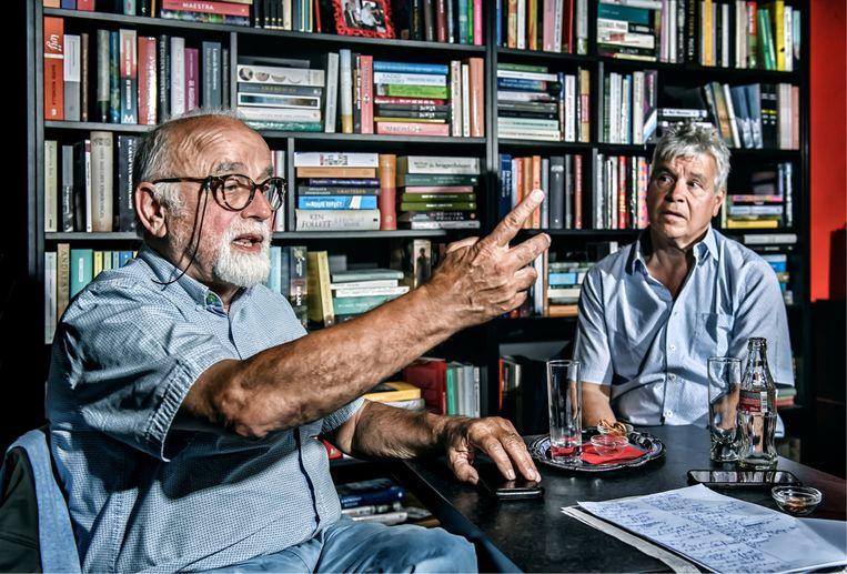 Jan Peumans: 'Sommige mensen vinden Jan Jambon saai. Dan denk ik: we hadden Geert Bourgeois beter laten voortdoen.' Beeld