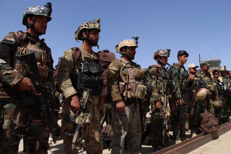 Afghaanse militairen