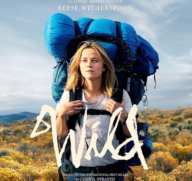 Reese Witherspoon op de poster van 'Wild'. Beeld kos