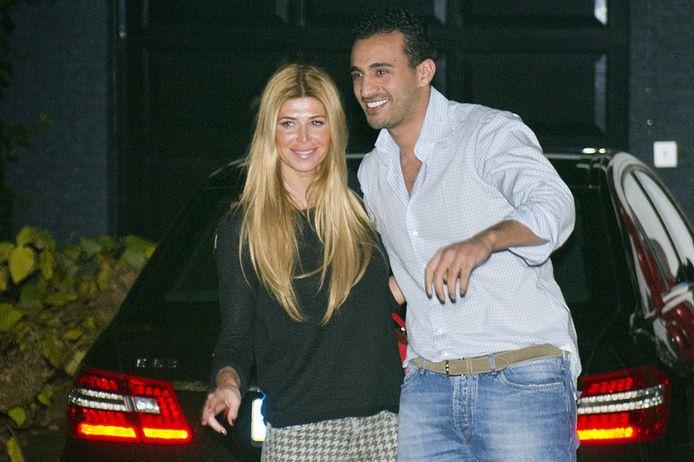 Estelle en Badr in betere tijden, in 2012