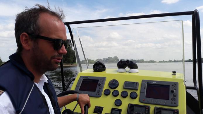 Tjeerd Zijlstra van Rijkswaterstaat gaat in augustus gewoon door met controleren, ongeacht de politieactie.