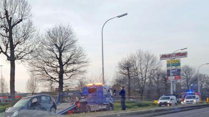 Twee lichtgewonden bij ongeval op Antwerpsesteenweg
