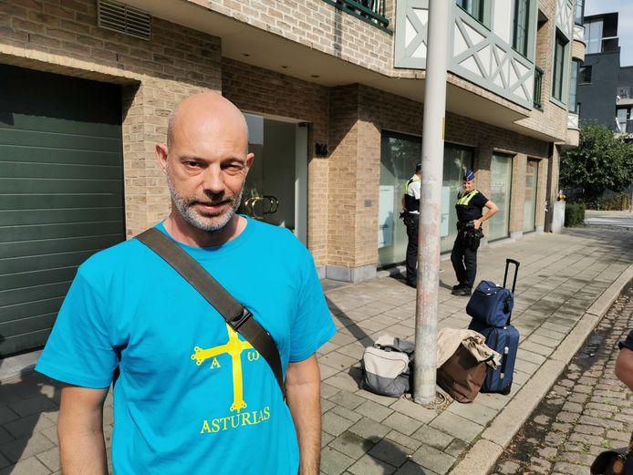 Bewoner Serge Veldman hoorde de tram aan hoge snelheid aan komen rijden.