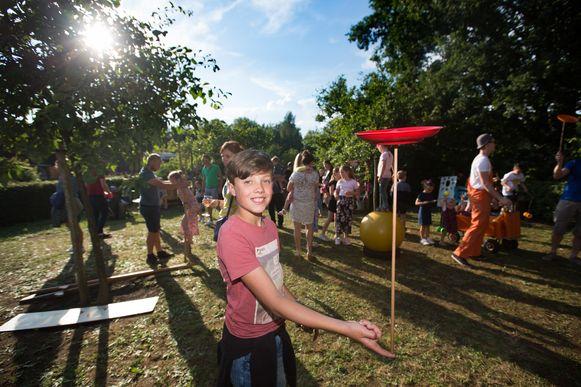 Balkan midzomernacht in Zelem circusworkshops voor kinderen