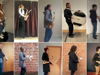 Geen 'teerfeest', dus organiseert fanfare virtuele optocht door de straten