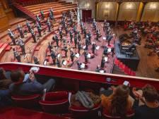 O ja, zo zag dat eruit, de zaal van het Concertgebouw met publiek