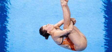 Schoonspringster Inge Jansen stijgt boven zichzelf uit met vijfde plaats