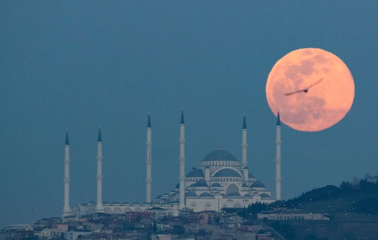 Istanboel (Turkije) Beeld EPA