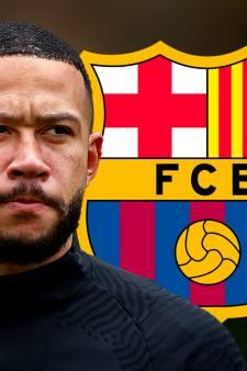 Officieel: Memphis Depay naar FC Barcelona