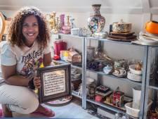 Als kind schaamde Alicia Cardosa zich voor tweedehands spulletjes, nu handelt ze er zelf in