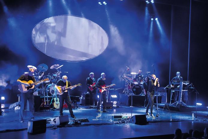 Luuk Braun en zijn band.
