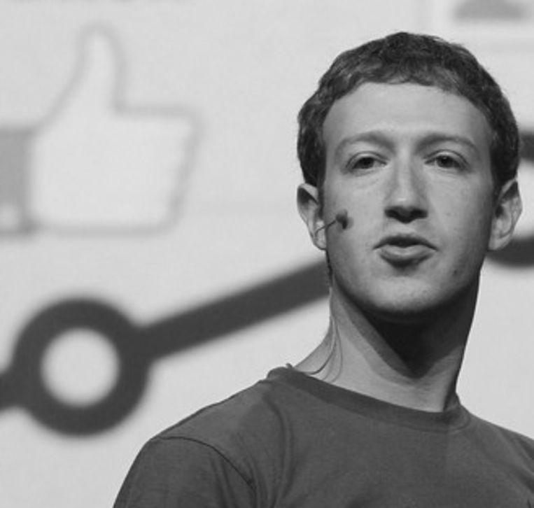 Mark Zuckerberg, CEO van Facebook Beeld UNKNOWN