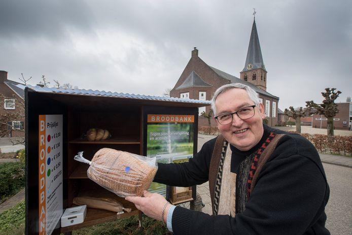 De broodbank van gepensioneerd bakker Wim de Greef uit Kesteren.