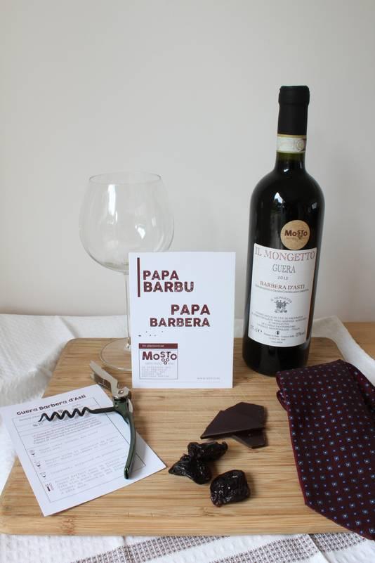 """Un colis-vin issu de la gamme """"Un Papa, un Vin"""" de l'e-caviste Mosto, qui a sélectionné trois vins de vignerons indépendants originaires de régions moins explorées. Prix: de 16 à 30 euros."""
