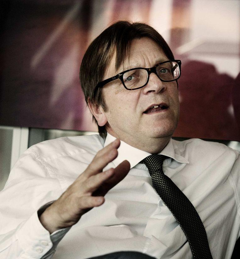 Guy Verhofstadt Beeld Tim Dirven