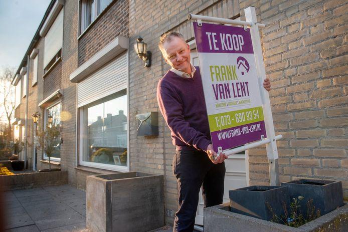 Wilbert Laros uit Geffen heeft ,ondanks de pandemie, zijn huis (hoogstwaarschijnlijk) kunnen verkopen.