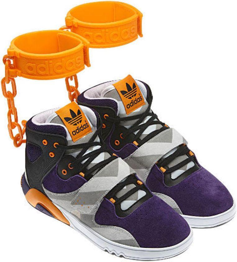 Slaven sneakers' van Adidas worden toch niet verkocht