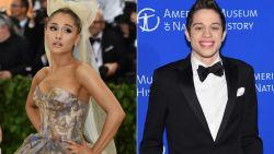 Grapjas zamelt geld in voor 'dakloze' Pete Davidson na breuk met Ariana Grande