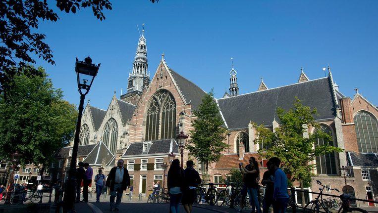 De Oude Kerk krijgt 175.000 euro subsidie. Beeld anp