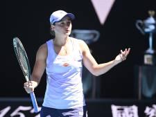 Nummer 1 van de wereld Barty strandt in kwartfinale tegen Muchova