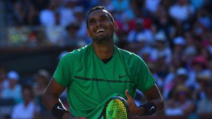 'Enfant terrible' Kyrgios geeft forfait voor kwartfinale tegen Federer in Indian Wells
