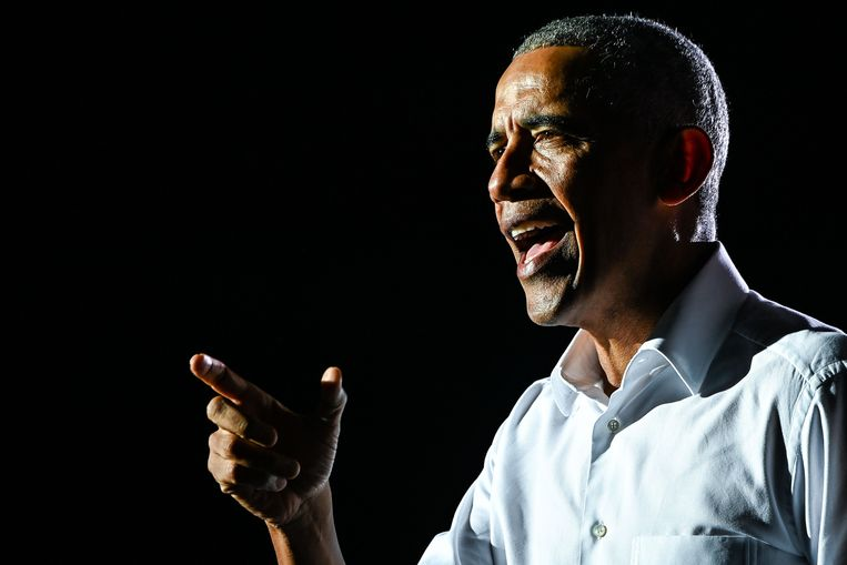 Voormalig Amerikaans president Barack Obama. Beeld AFP