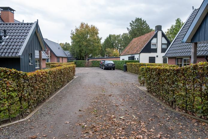 Overzicht van het park in Doornspijk, ter illustratie.