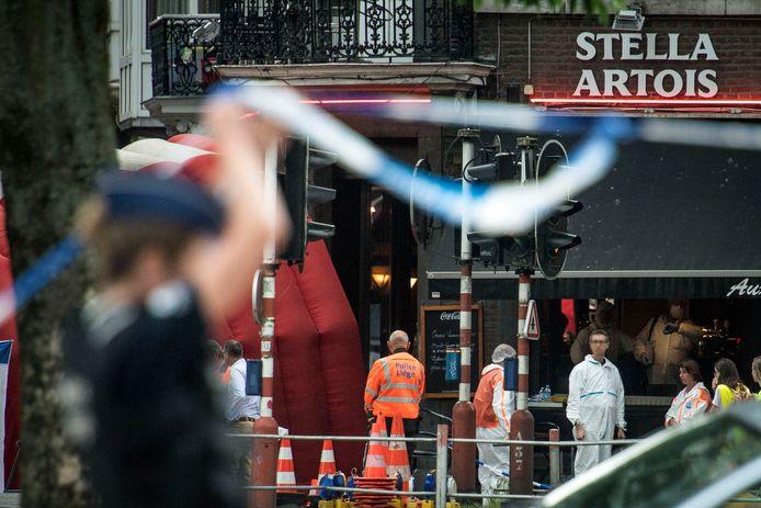 Op 29 mei opende een schutter het vuur in Luik