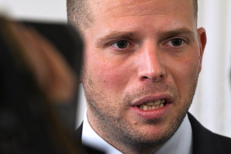 Staatssecretaris voor Asiel en Migratie Theo Francken (N-VA). Beeld Photo News