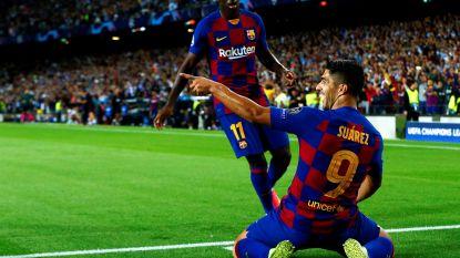 Suárez redt Barça
