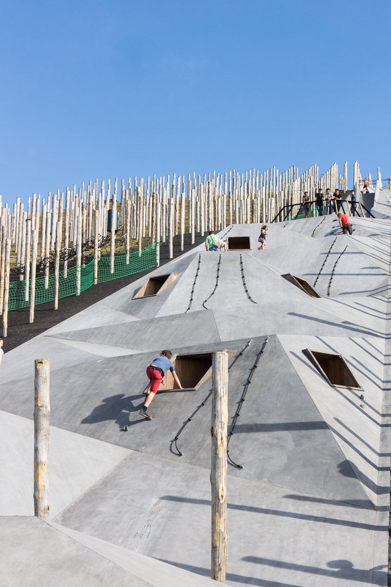 Dit avontuurlijk doe-park staat in België.  Beeld Marleen Beek/Carve