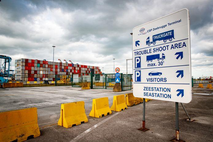 De haven van Zeebrugge.z