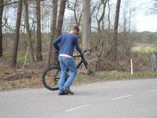 Mountainbikers maken flinke smak