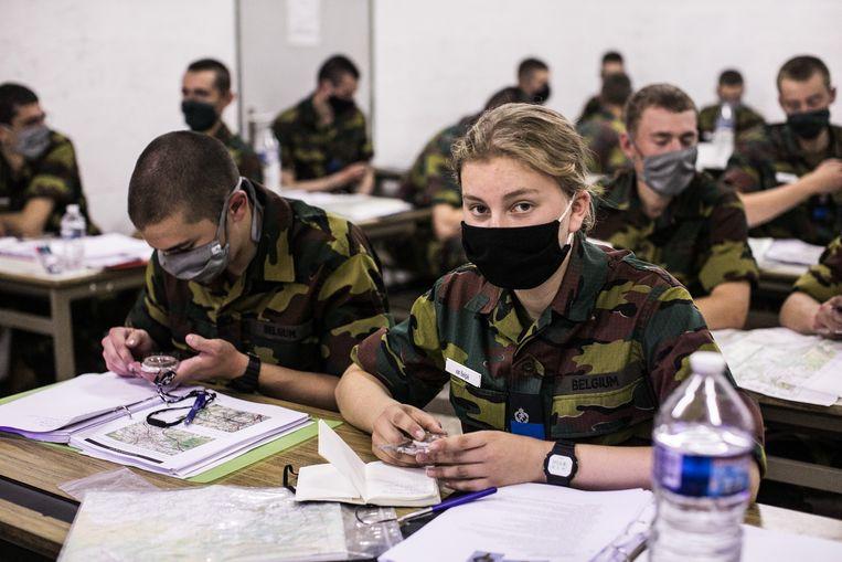 Driewerf hoera: Belgische prinses Elisabeth glansrijk geslaagd voor militaire opleiding Beeld Koninklijk Paleis Belgie