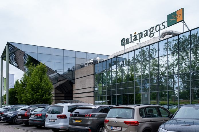 De hoofdzetel van Galapagos in Mechelen.