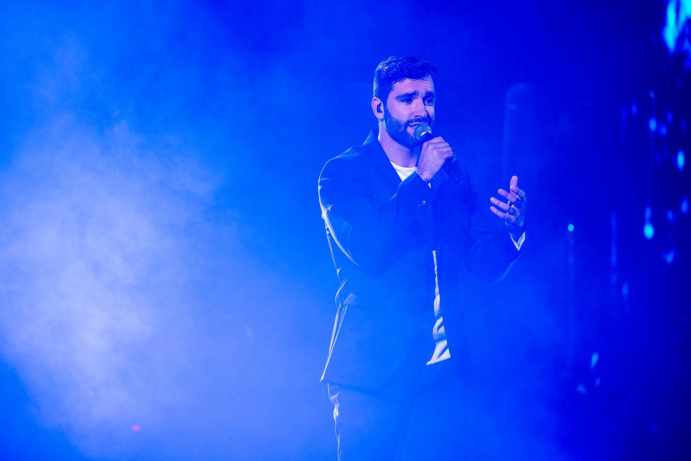 Metejoor tijdens de finale van The Voice van Vlaanderen.