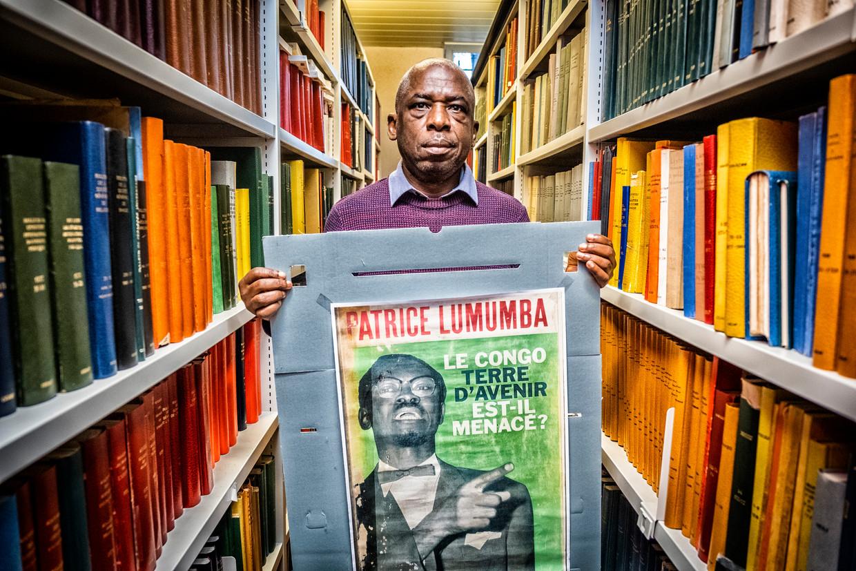Jean Omasombo: 'Ik was gewoon de neger van de Lumumba-commissie.' Beeld Tim Dirven