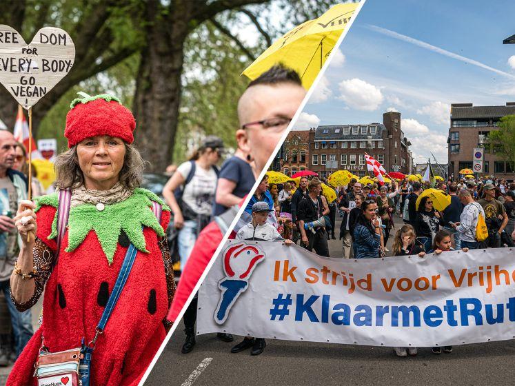 Demonstratie tegen Rutte en coronamaatregelen: 'Wappie is een geuzennaam'