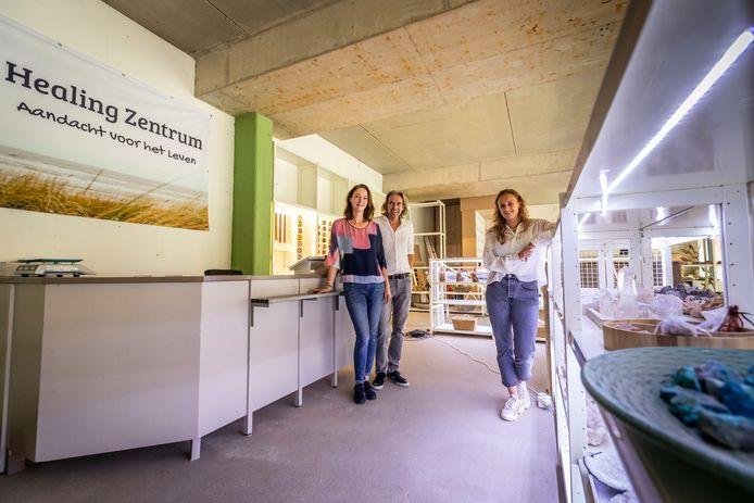 Healing Zentrum in een winkelpand in Sint-Oedenrode, onderdeel van VOLOP Meijerijstad.